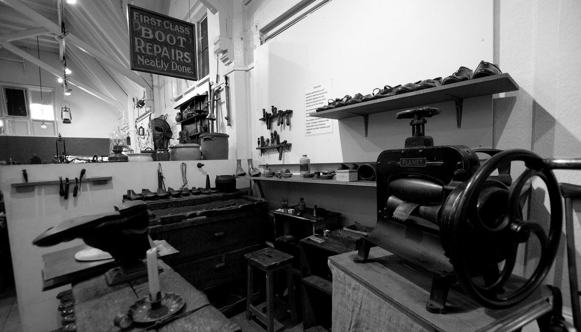 The cobblers shop