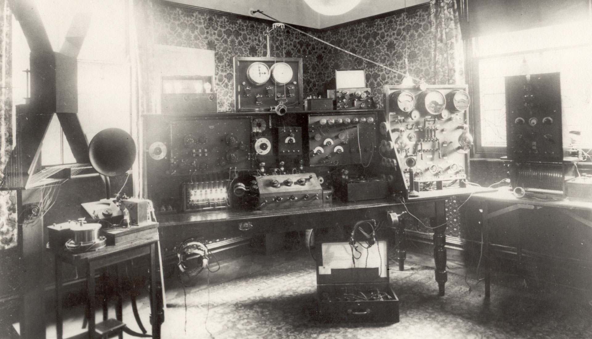 Herbert Baker's Wireless Room, Gordon Lodge, Ruddington
